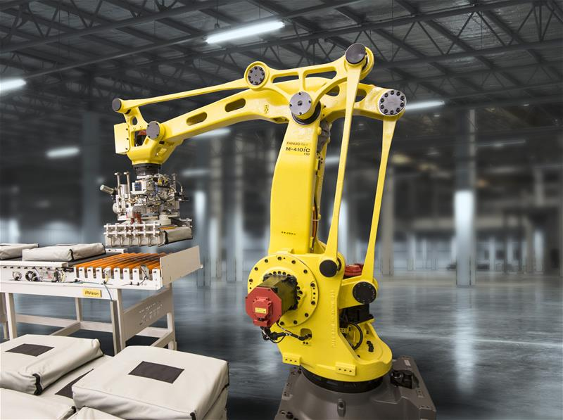 Fanuc claims its new palletising robot is 'fastest' in its class