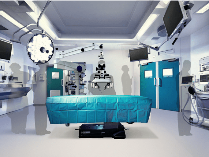 Surgeons in robotic surgery 'world first'