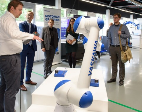 Yaskawa partners with CommScope on advanced manufacturing technology centre in Belgium