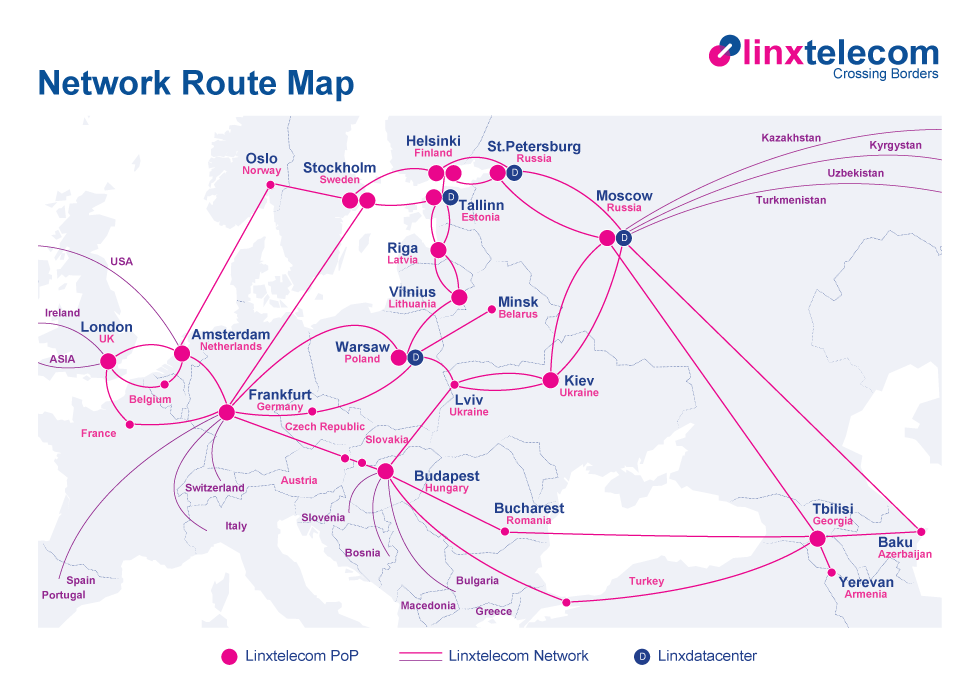 citic linx Network-Route-Map_2011