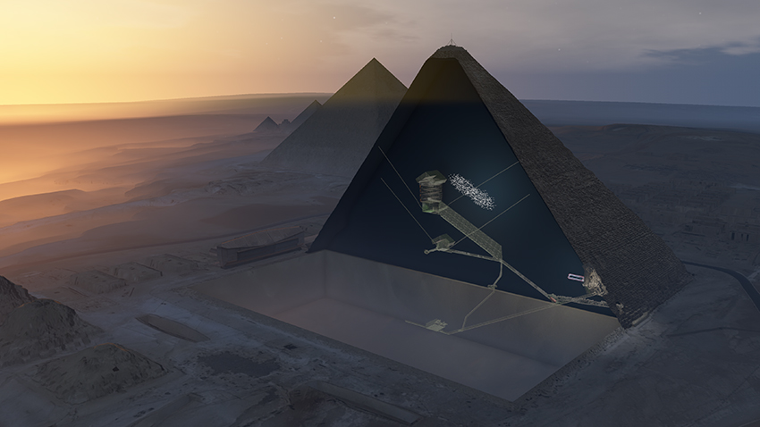 Giant alien may have lived inside Great Pyramid of Egypt