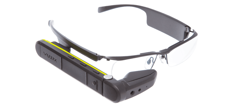 HMS demonstrates human-machine interface solutions on the Vuzix smart glasses platform