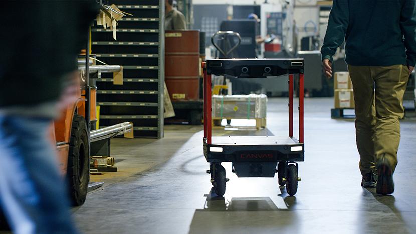 Canvas Technology raises $15 million to further develop its logistics robots