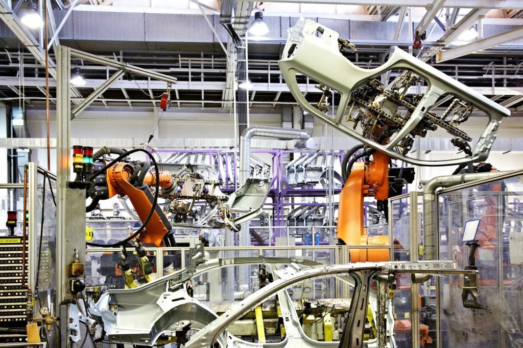 Industrial robots break records in 2017