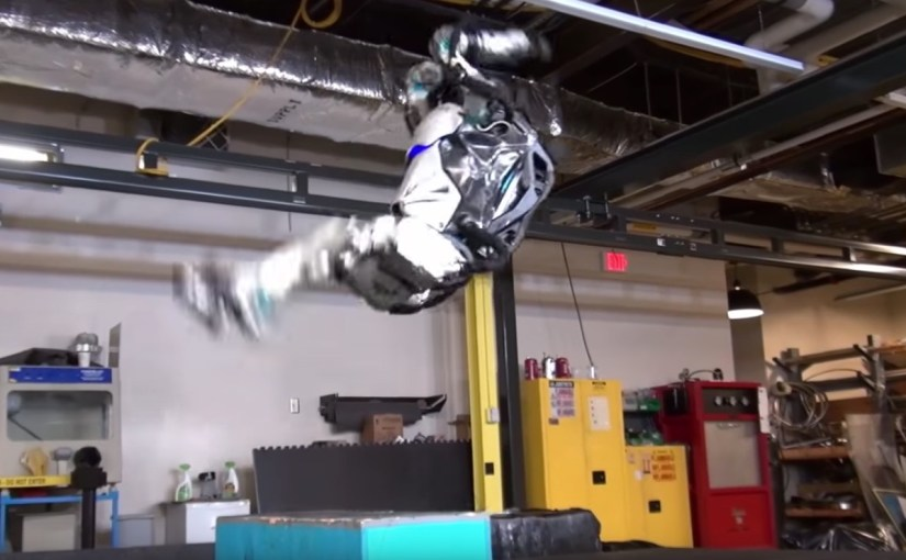 Boston Dynamics terrifies humanity again with humanoid robot that can do backflips like an Olympic gymnast