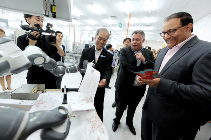 HP opens first advanced manufacturing centre in Singapore