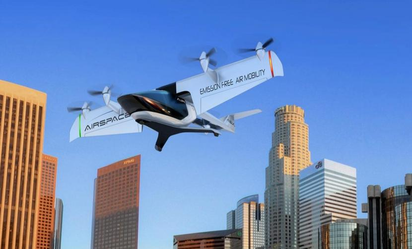 AirSpaceX unveils electric aircraft in Detroit