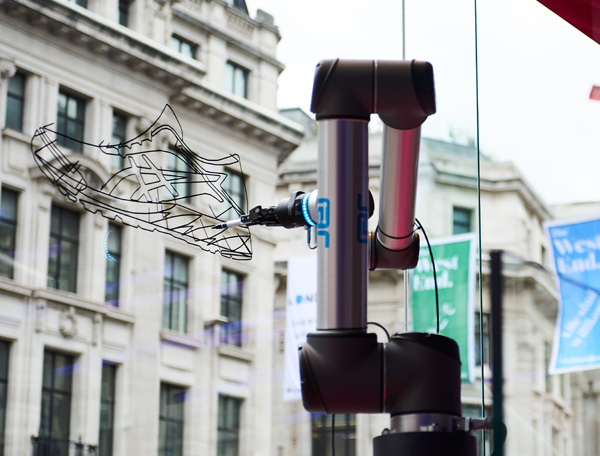 Universal Robots draw crowds in London's West End