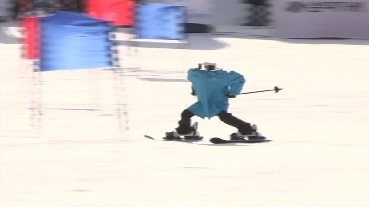 South Korea provides skiing competition for robots at Winter Olympics
