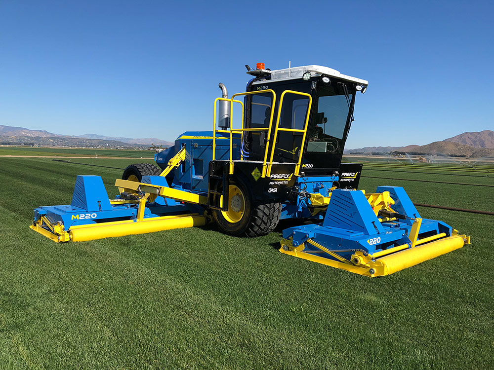 FireFly Automatix's new self-propelled, hybrid mower 'cuts costs', says maker