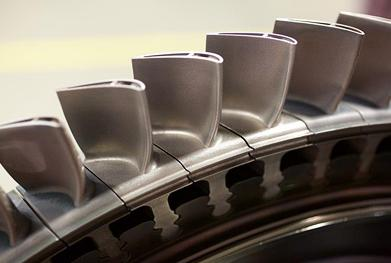 Siemens uses additive manufacturing to produce gas turbines