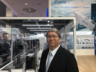 Delta demonstrates smart manufacturing capabilities at Hannover