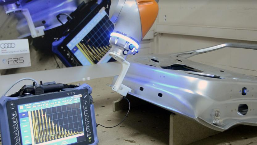 Audi opts for FRS Robotics quality control on car doors