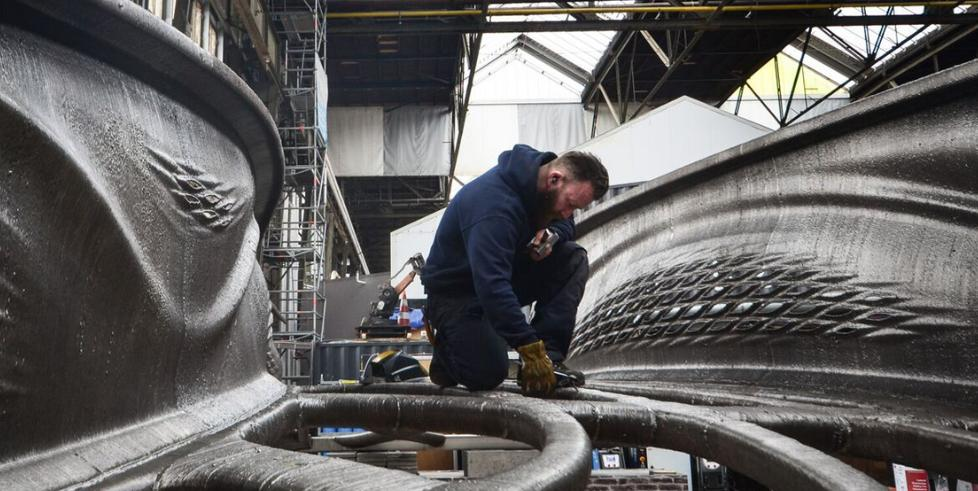 Amsterdam to have new 3D printed stainless steel bridge