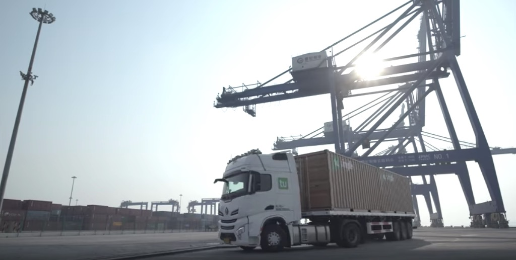TuSimple to launch autonomous truck for port logistics