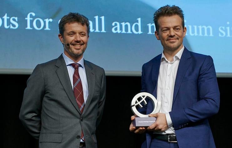 Universal Robots wins the DenmarkBridge Award 2018