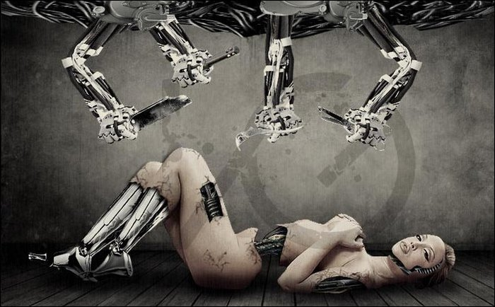 sex robot illustration