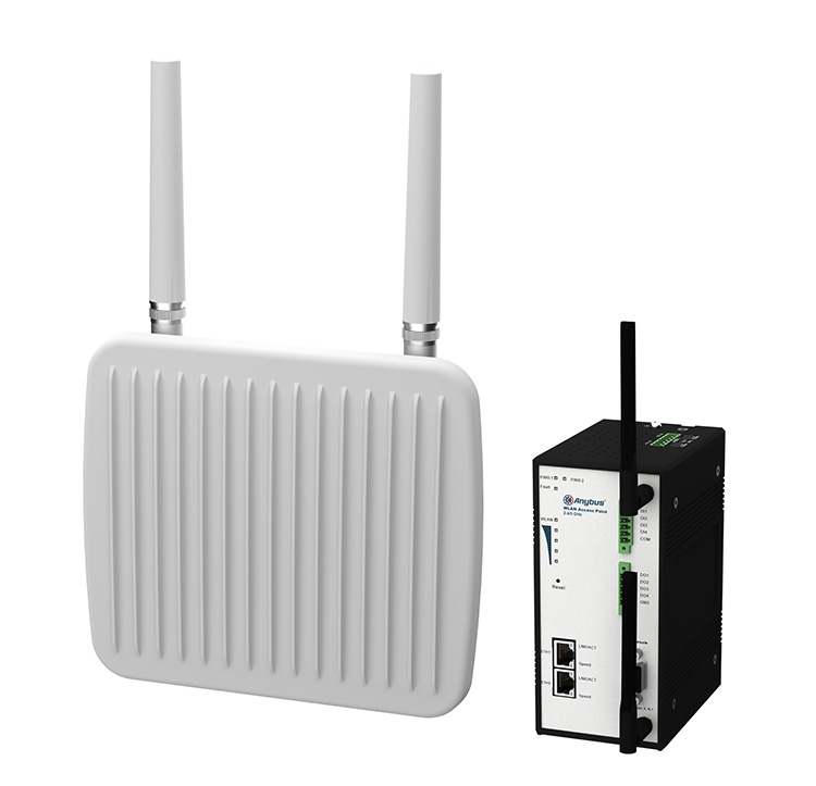 HMS Industrial Networks launches two new Anybus WLAN access points