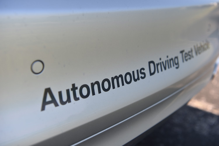 bmw autonomous driving bumper image copy