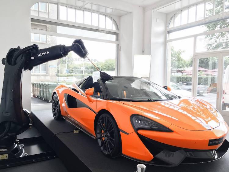kuka and McLaren copy