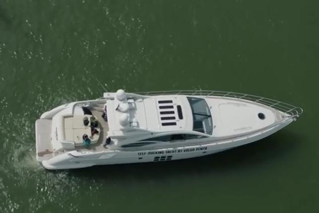 Volvo Penta unveils self-docking yacht technology