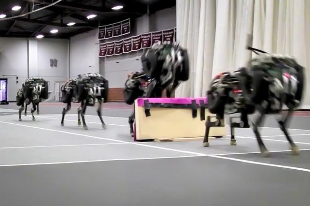 MIT demonstrates four-legged robot that can jump like a cheetah