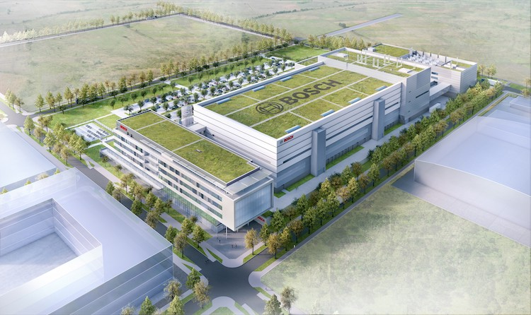 Bosch lays foundation stone for billion-dollar 'factory of the future'