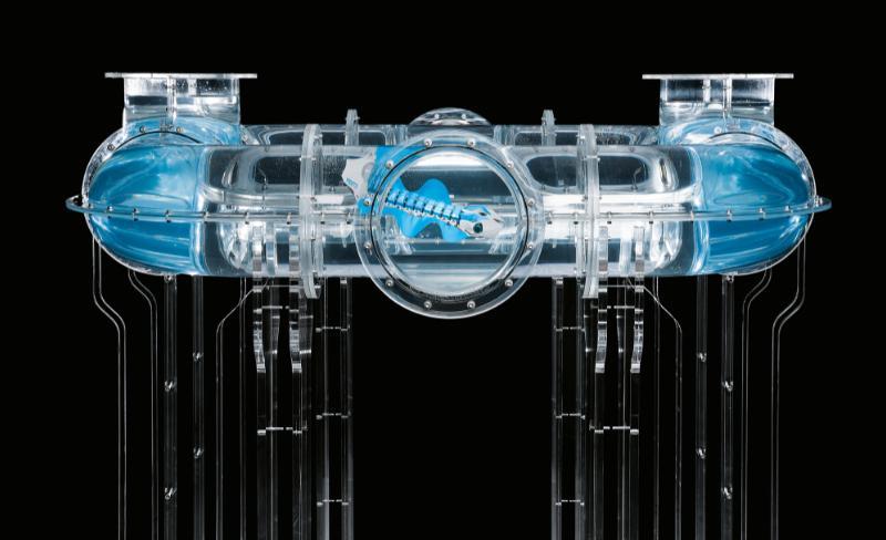 Festo shows off BionicFinWave underwater robot
