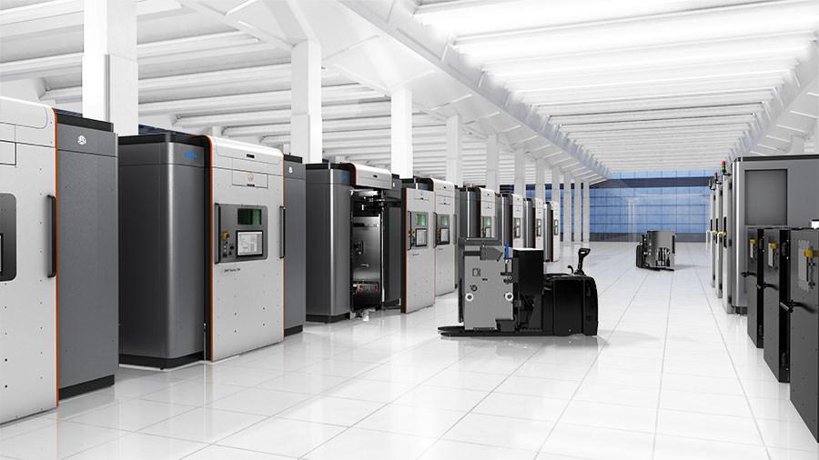 3D Systems GF DMP 500 Factory enviroment