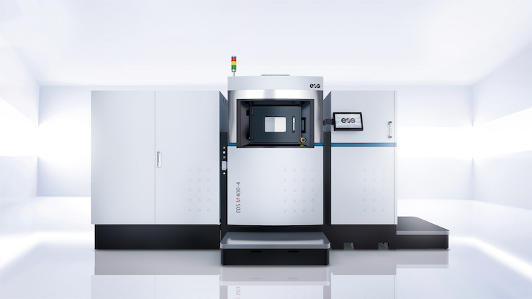 EOS launches new digital industrial additive manufacturing production system