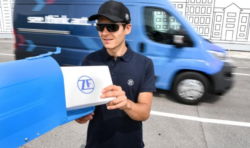 ZF developing autonomous 'last-mile' delivery