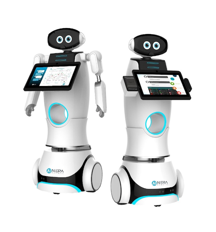 New Kinpo Group unveils AI robotic factory and service solutions at IMTS 2018