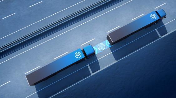 ZF works on European 'truck platooning'