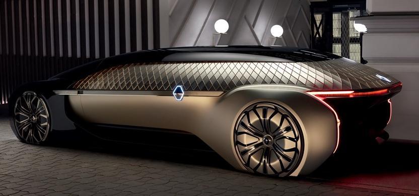 Renault unveils its latest autonomous vehicle concept at Paris Motor Show