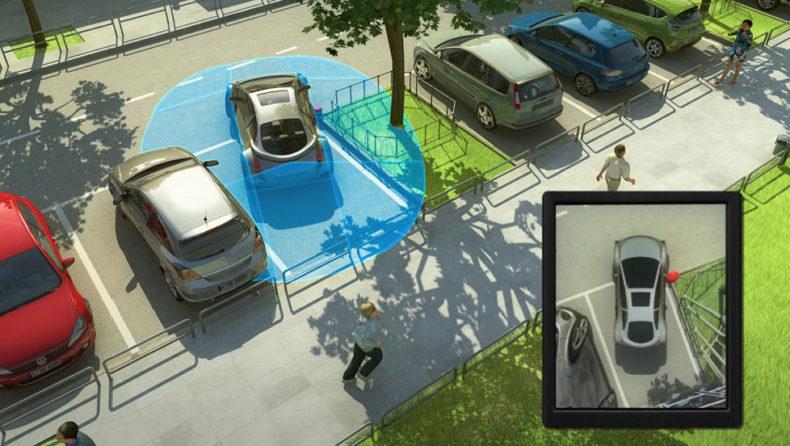 valeo autonomous car parking