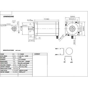 Nema 34 87 Kg Cm Stepper Motor Roboticsdna An Indian Robotics Shop Robotics Parts Hobby Diy