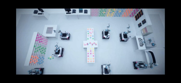 Lenovo Daystar Robots