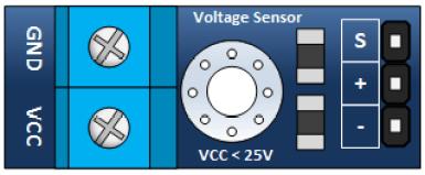 Arduino-25V-Sensor-Module