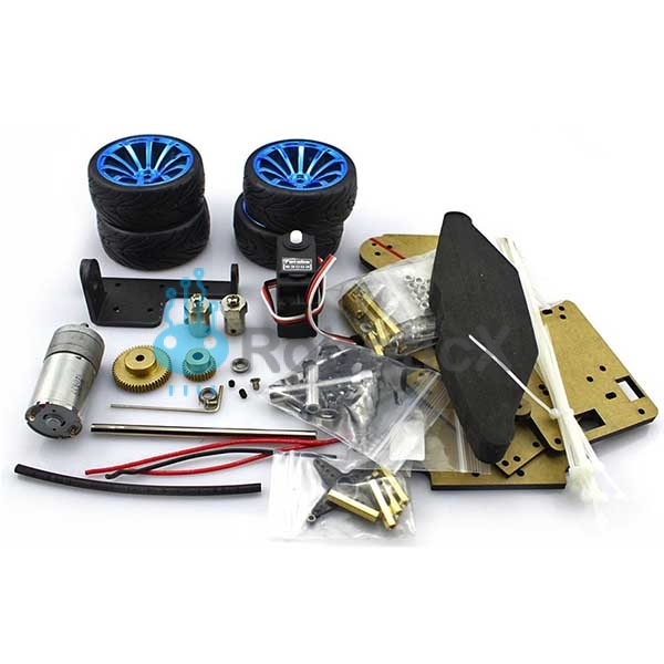 4WD RC Smart Car Chassis -02