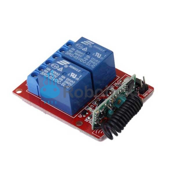2 Channels RF Remote -04