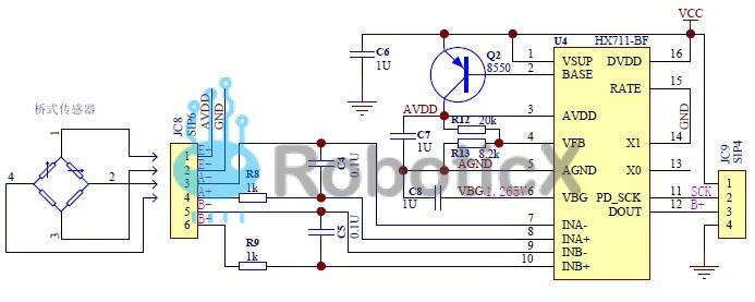 Weight Sensor Amplifier- HX711