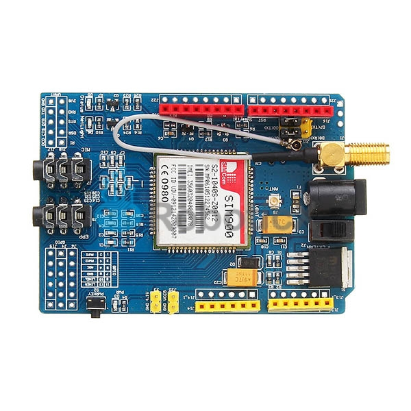SIM900 GPRS//GSM Shield Development Board Quad-Band Module with Antenna