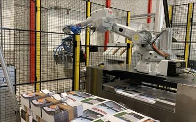Robotisert palletering til Ålgård Offset