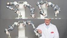 Mänskligare industrirobotar ska lära av sina misstag