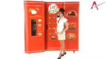 Pizzaautomaten som bakar pizza på 2,5 minuter