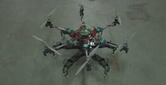 Veckans videor: Julhälsningar och flygande hexapod