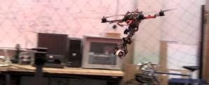 """Flygande robot fångar """"byten"""" som en havsörn"""