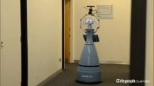 Vaktroboten Linda ska ge ökad trygghet på äldreboenden