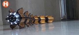 Amfibiska robotormen ACM-R5H uppdaterad