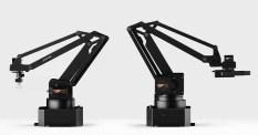 Skrivbordsrobotarmen uArm Swift Pro är exakt nog för 3D-utskrifter och lasergravyr